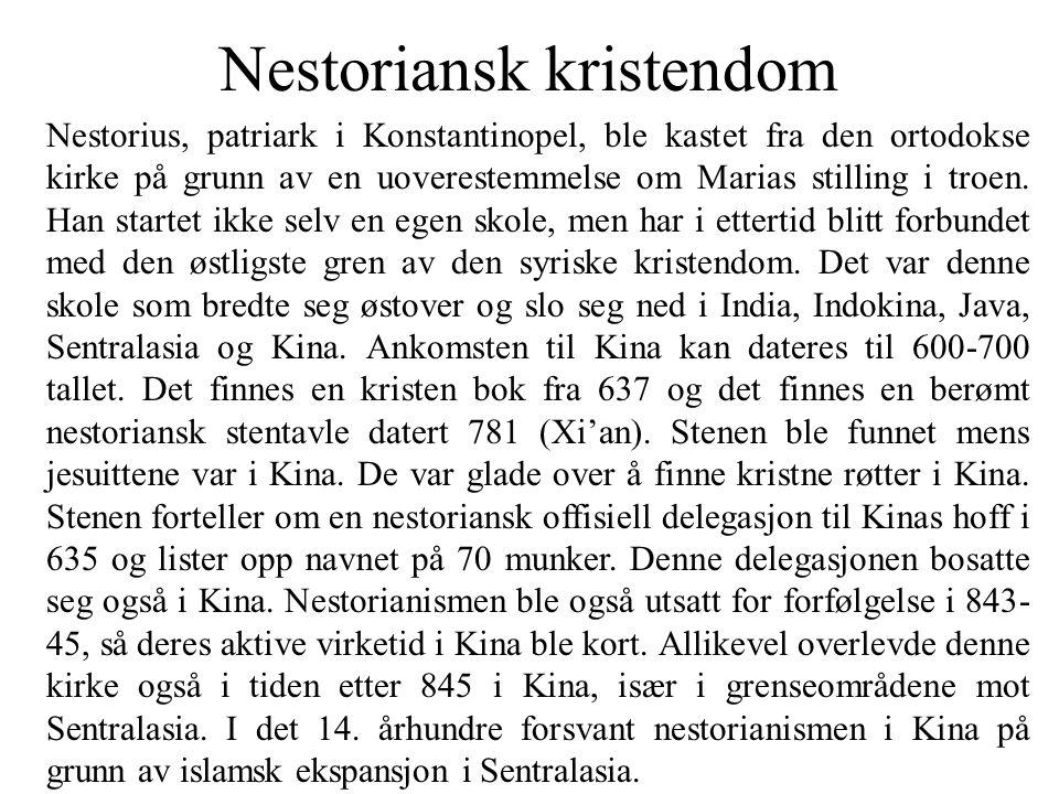 Nestoriansk kristendom