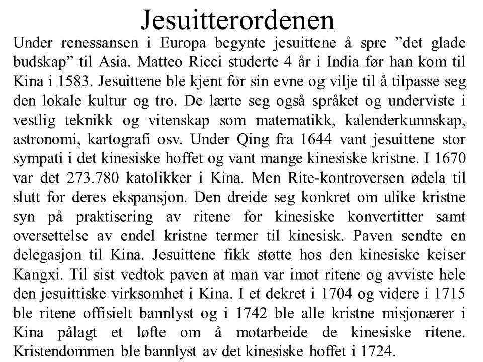 Jesuitterordenen