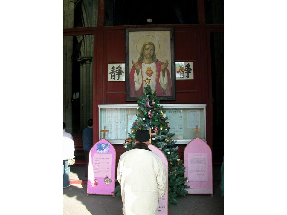 Kristus ved inngangen til kirken