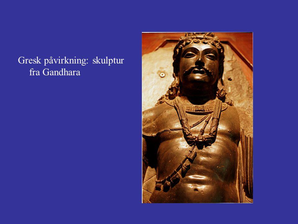 Gresk påvirkning: skulptur fra Gandhara
