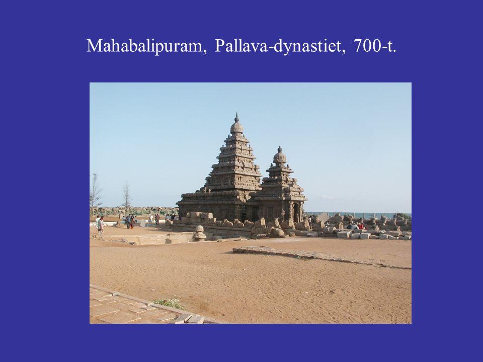 Mahabalipuram, Pallava-dynastiet, 700-t.