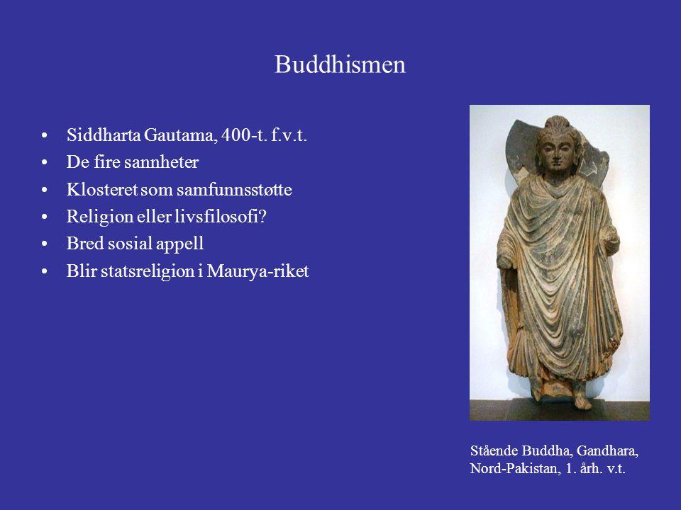 Buddhismen Siddharta Gautama, 400-t. f.v.t. De fire sannheter