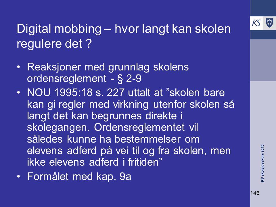Digital mobbing – hvor langt kan skolen regulere det