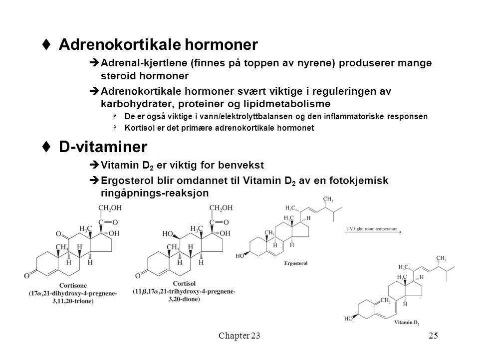 Adrenokortikale hormoner