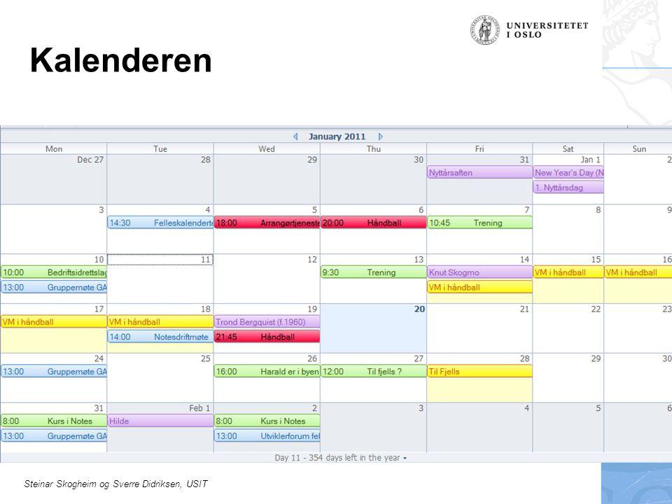 Kalenderen