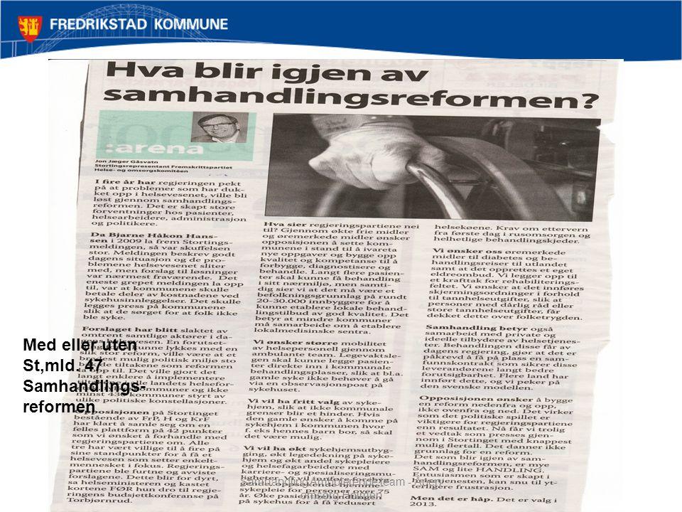 Samhandling Ambulerende team - Åpen omsorg Holmen