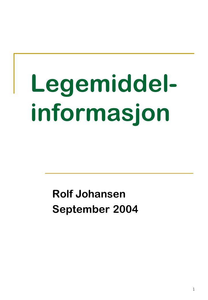 Legemiddel-informasjon