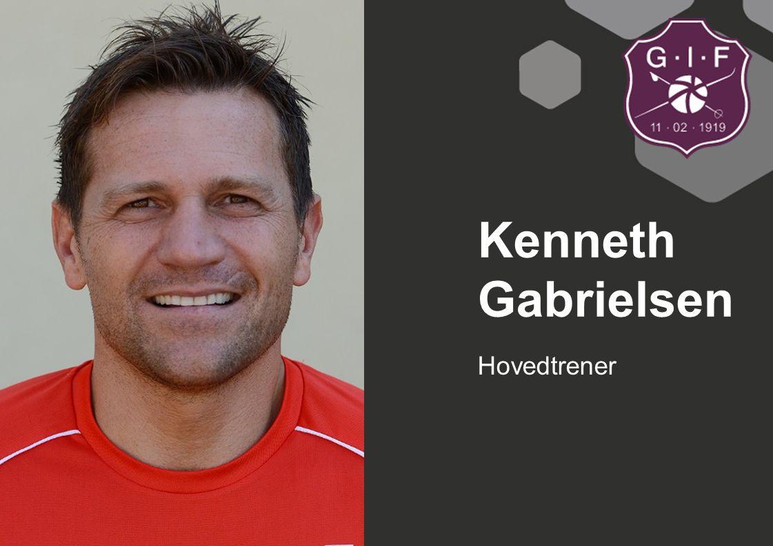 Kenneth Gabrielsen Hovedtrener