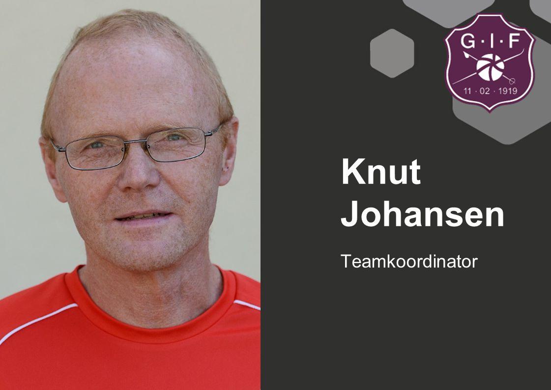 Knut Johansen Teamkoordinator