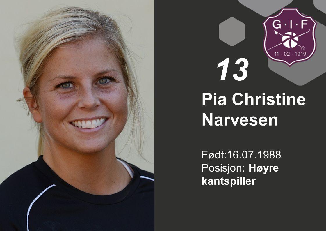 Pia Christine Narvesen