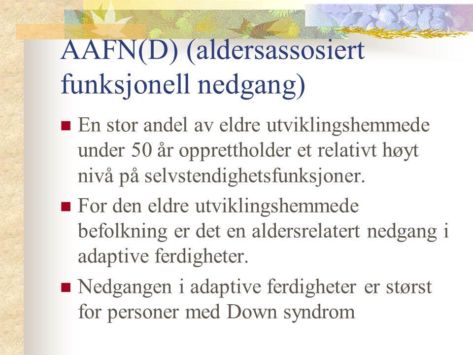 AAFN(D) (aldersassosiert funksjonell nedgang)