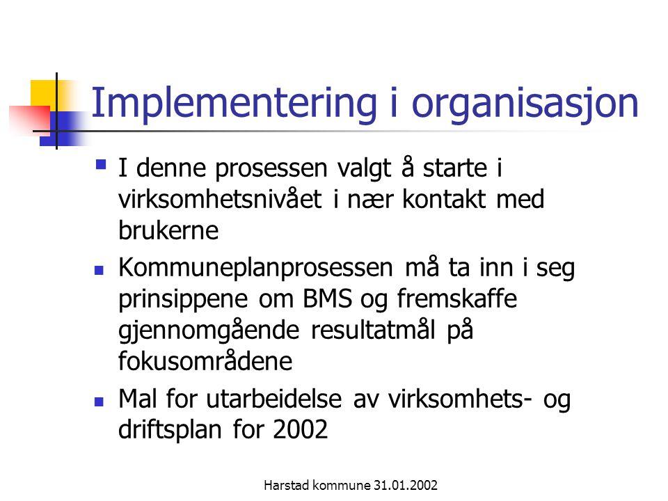 Implementering i organisasjon