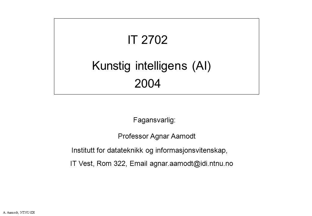 Kunstig intelligens (AI) 2004