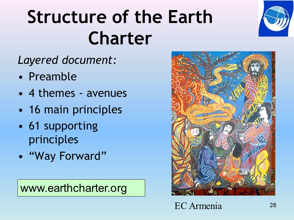 Structure of the Earth Charter