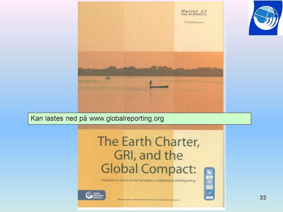 Kan lastes ned på www.globalreporting.org
