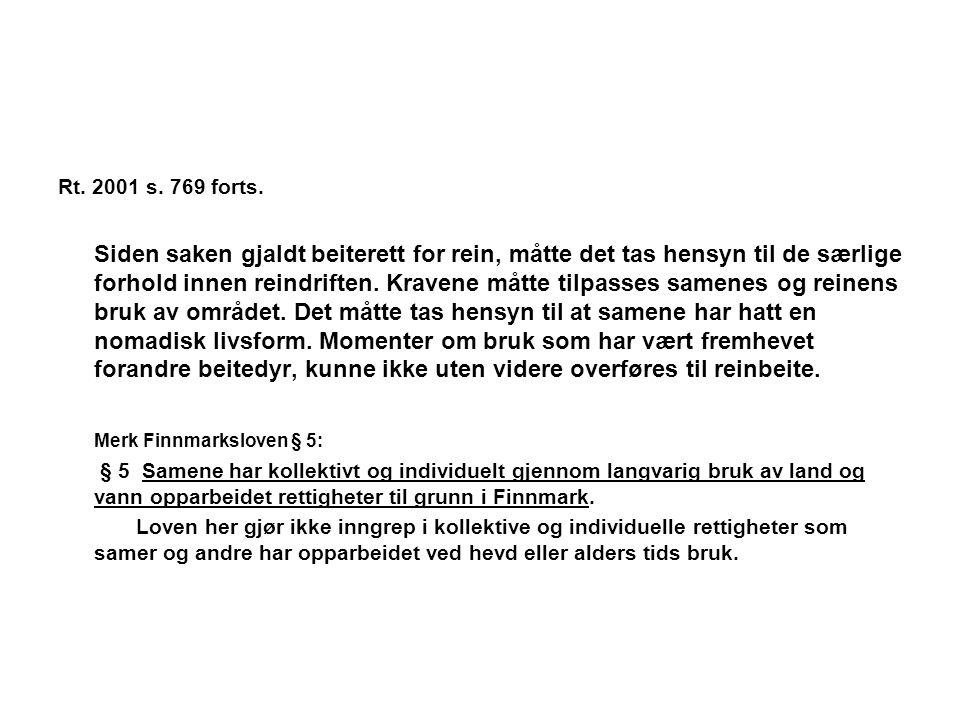 Merk Finnmarksloven § 5: