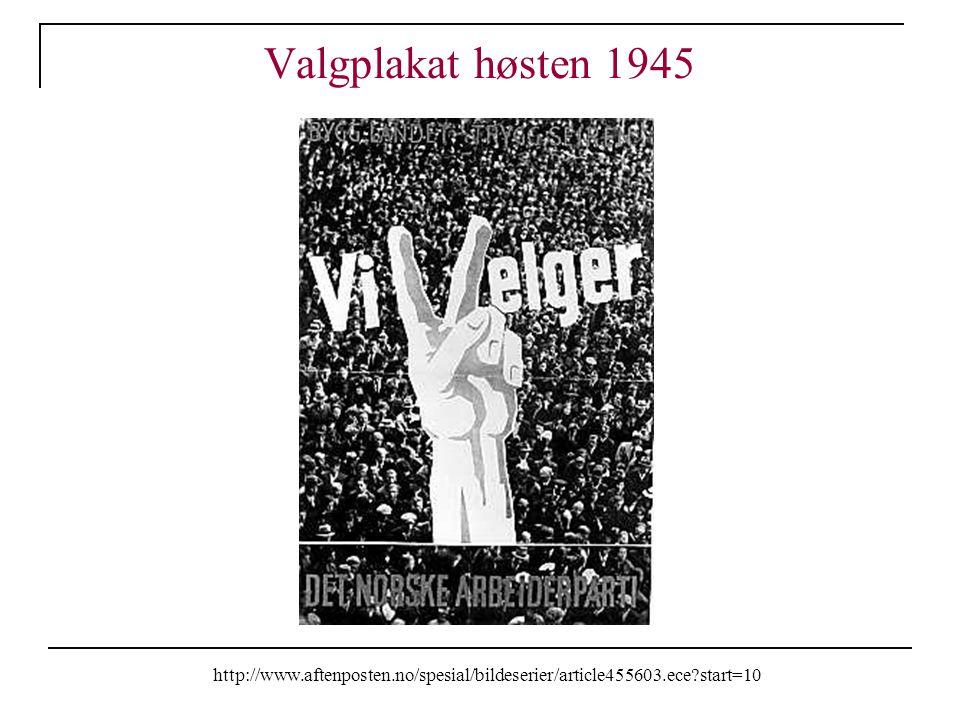 Valgplakat høsten 1945 http://www.aftenposten.no/spesial/bildeserier/article455603.ece start=10
