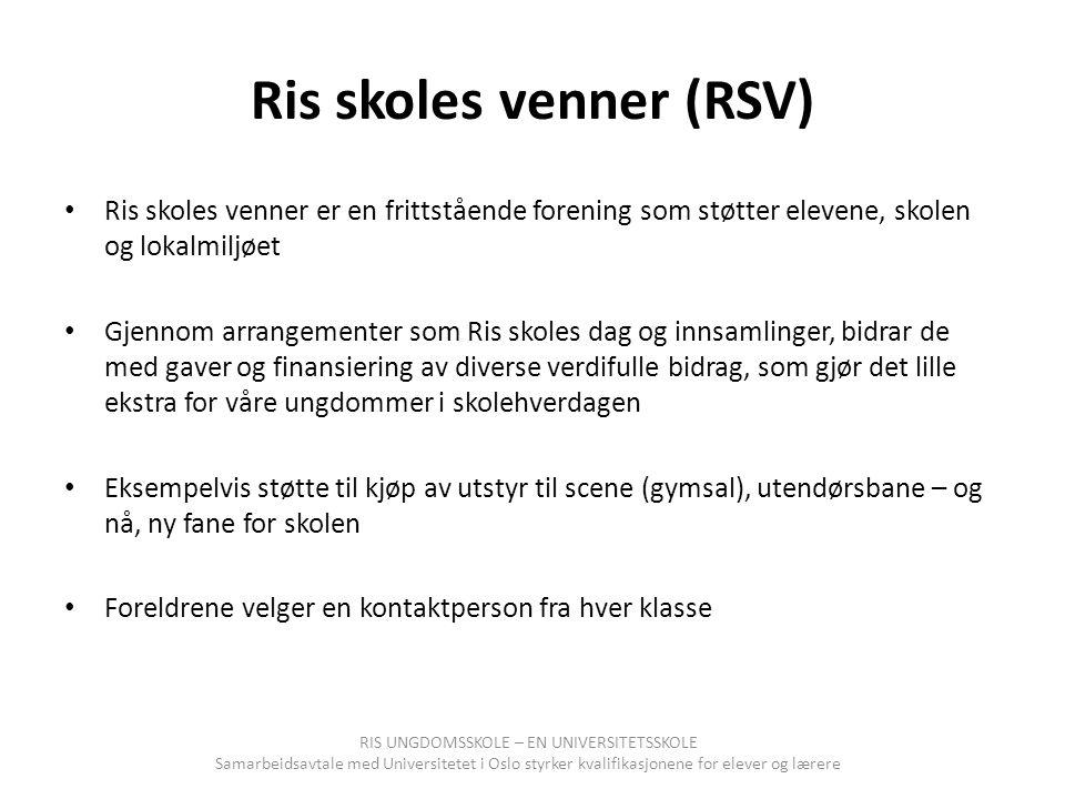Ris skoles venner (RSV)