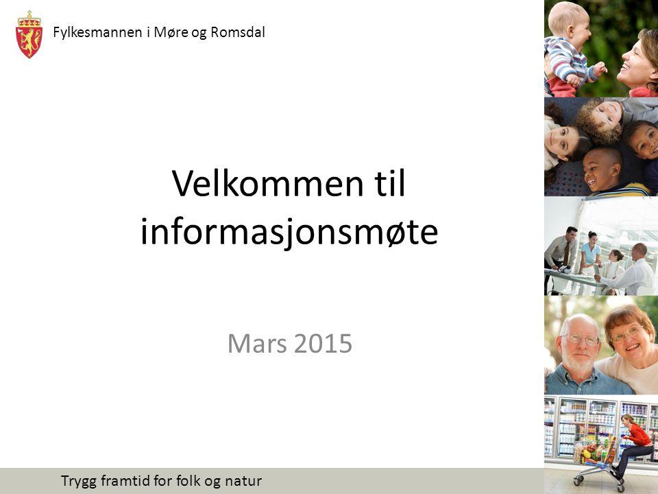 Velkommen til informasjonsmøte