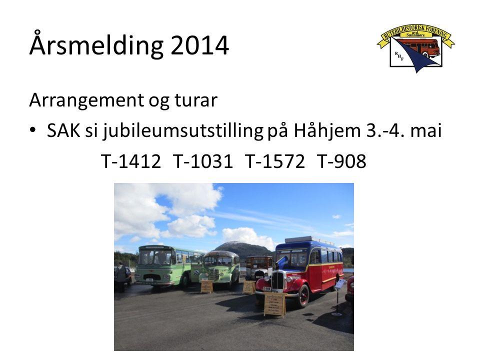 Årsmelding 2014 Arrangement og turar