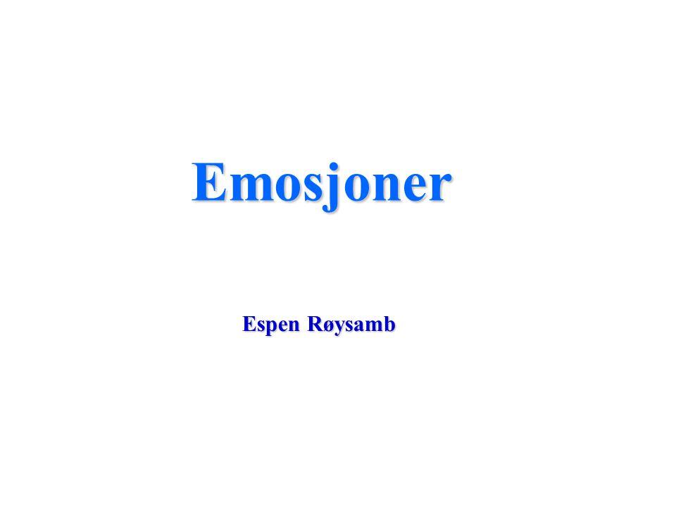 Emosjoner Espen Røysamb