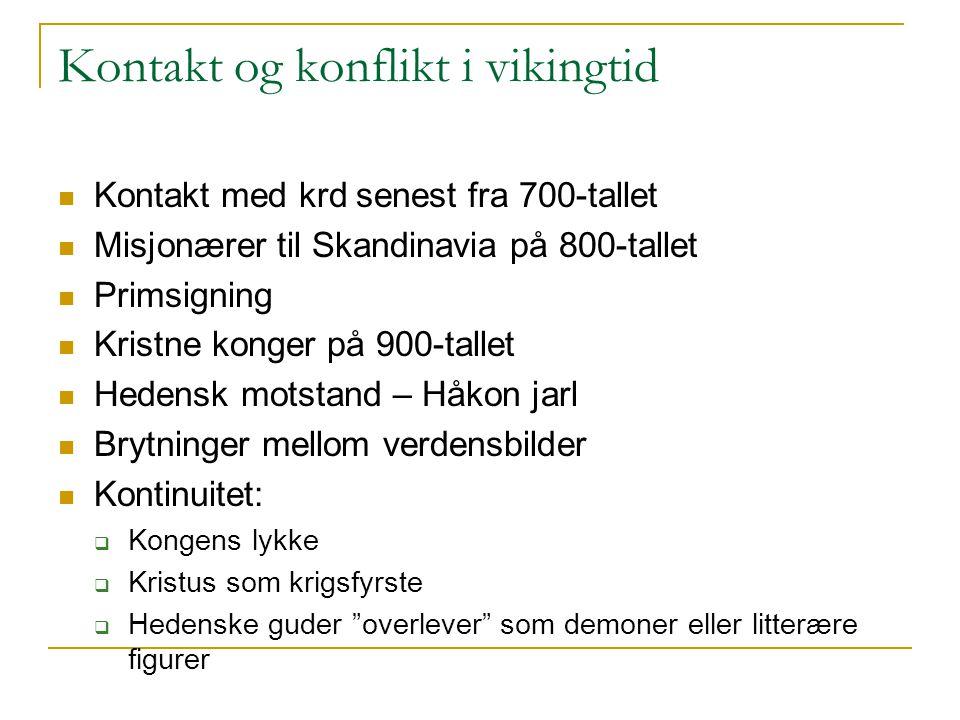Kontakt og konflikt i vikingtid