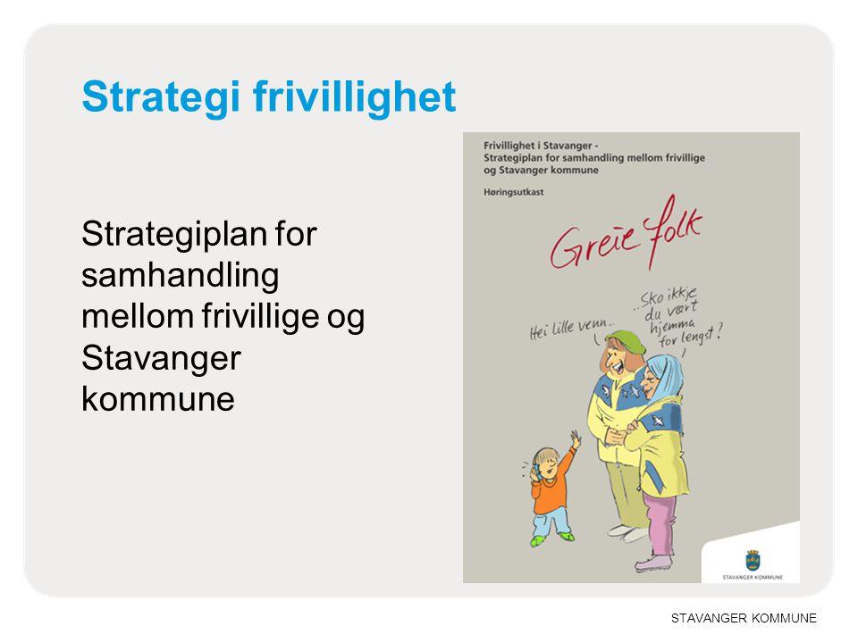 Strategi frivillighet