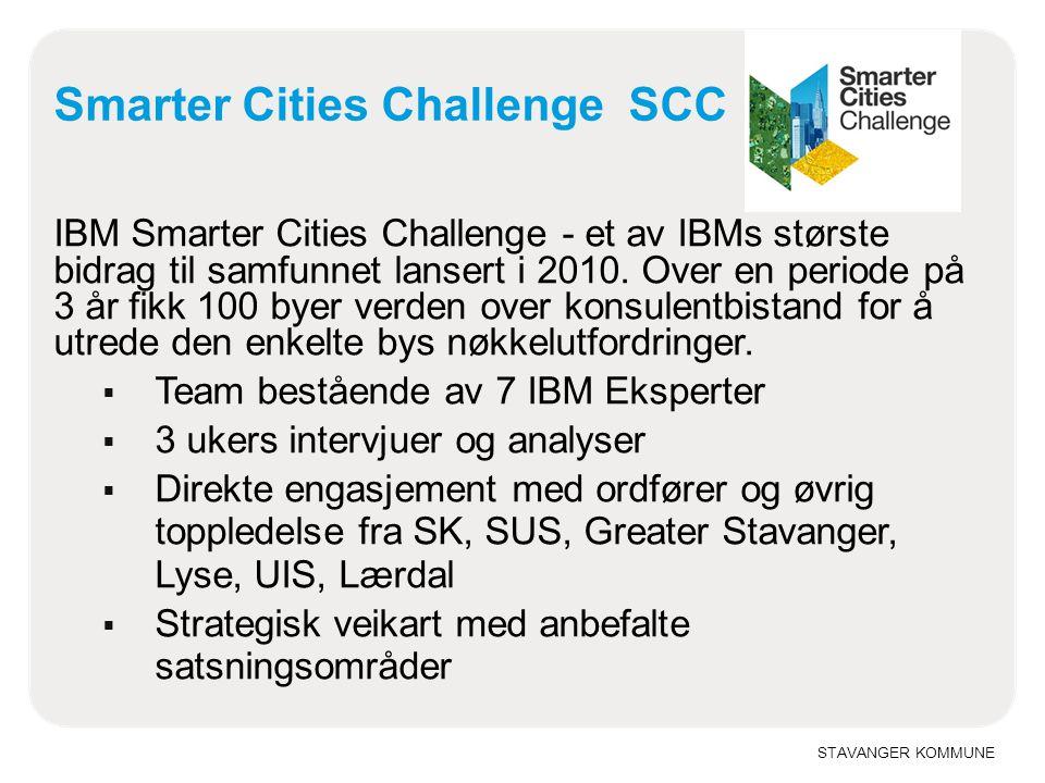 Smarter Cities Challenge SCC