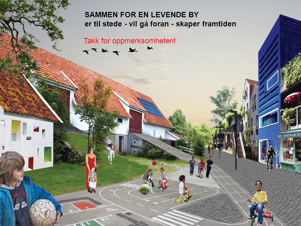SAMMEN FOR EN LEVENDE BY
