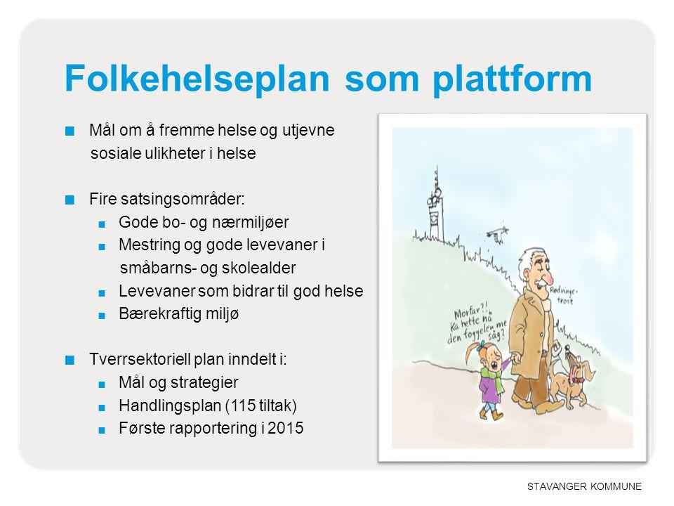 Folkehelseplan som plattform