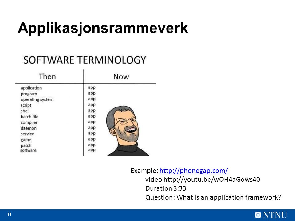 Applikasjonsrammeverk