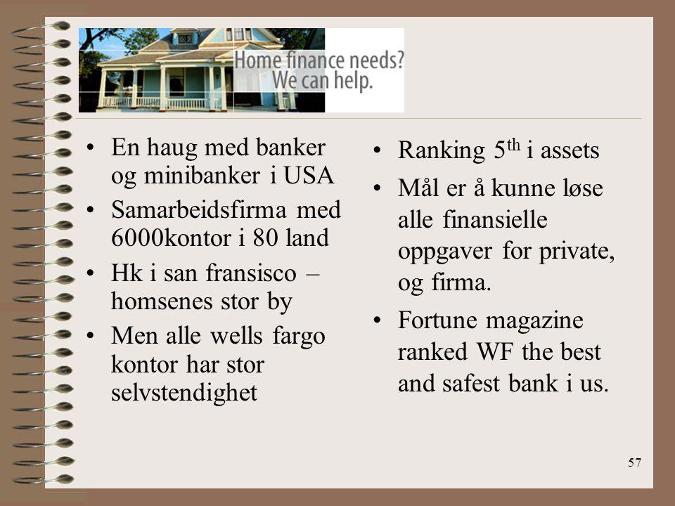 En haug med banker og minibanker i USA