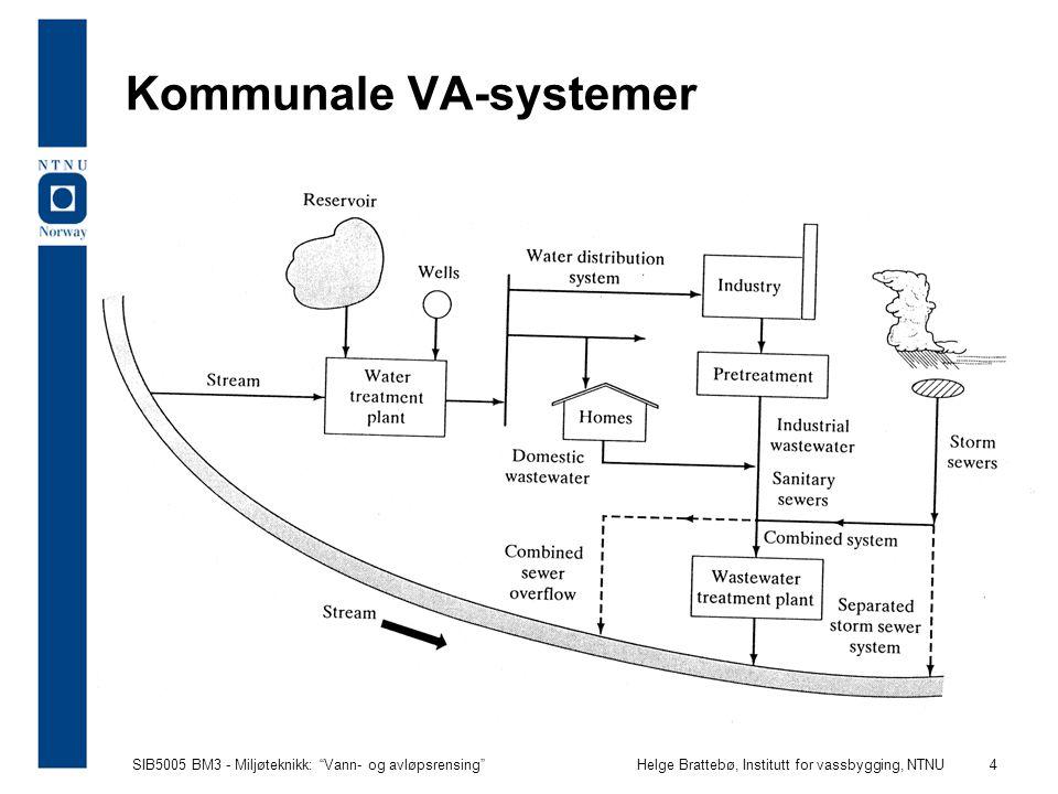 Kommunale VA-systemer