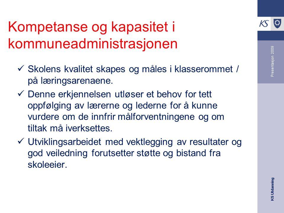 Kompetanse og kapasitet i kommuneadministrasjonen