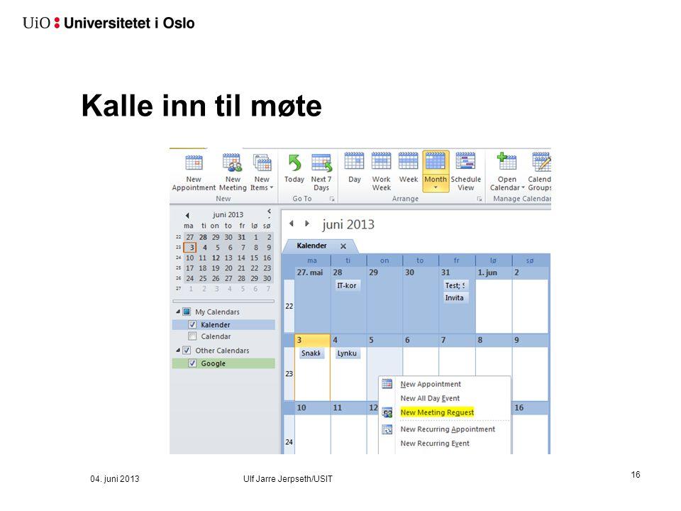 Og man ser begge 04. juni 2013 Ulf Jarre Jerpseth/USIT