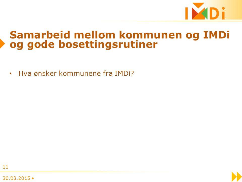 Samarbeid mellom kommunen og IMDi og gode bosettingsrutiner