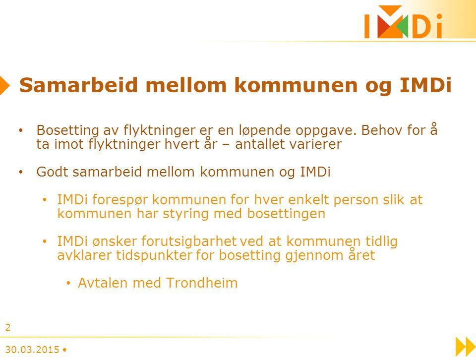 Samarbeid mellom kommunen og IMDi