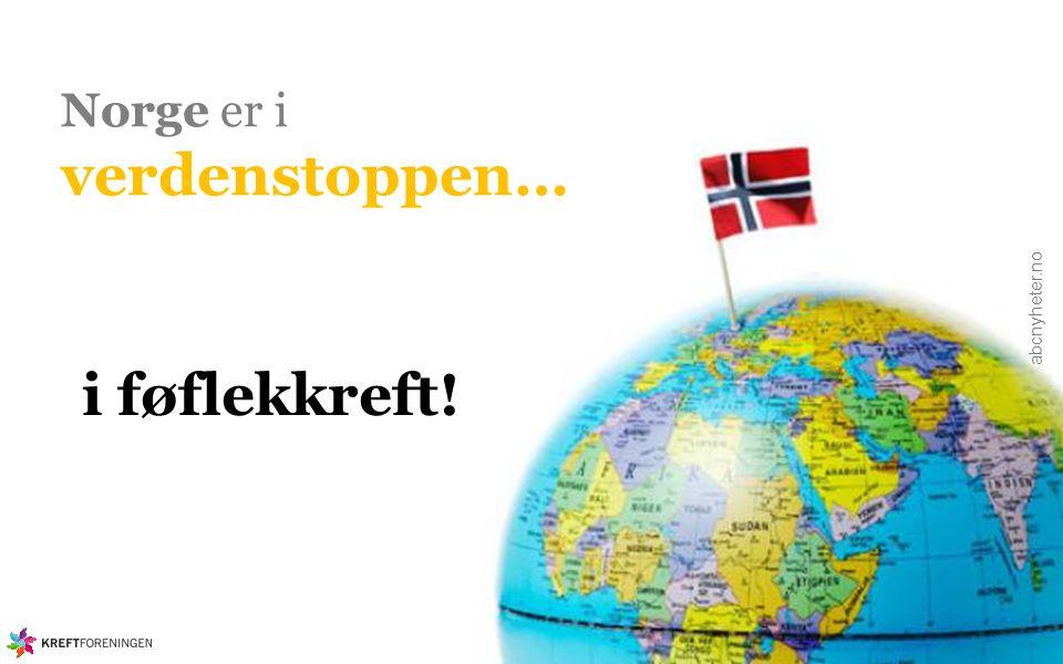 Norge er i verdenstoppen…