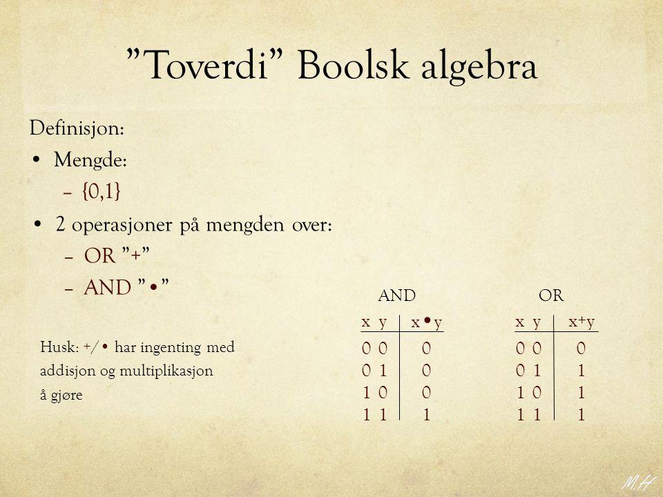 Toverdi Boolsk algebra