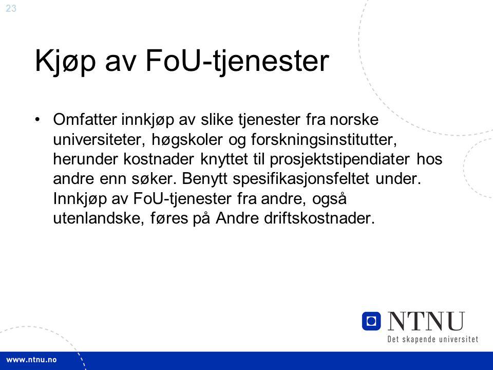 Kjøp av FoU-tjenester