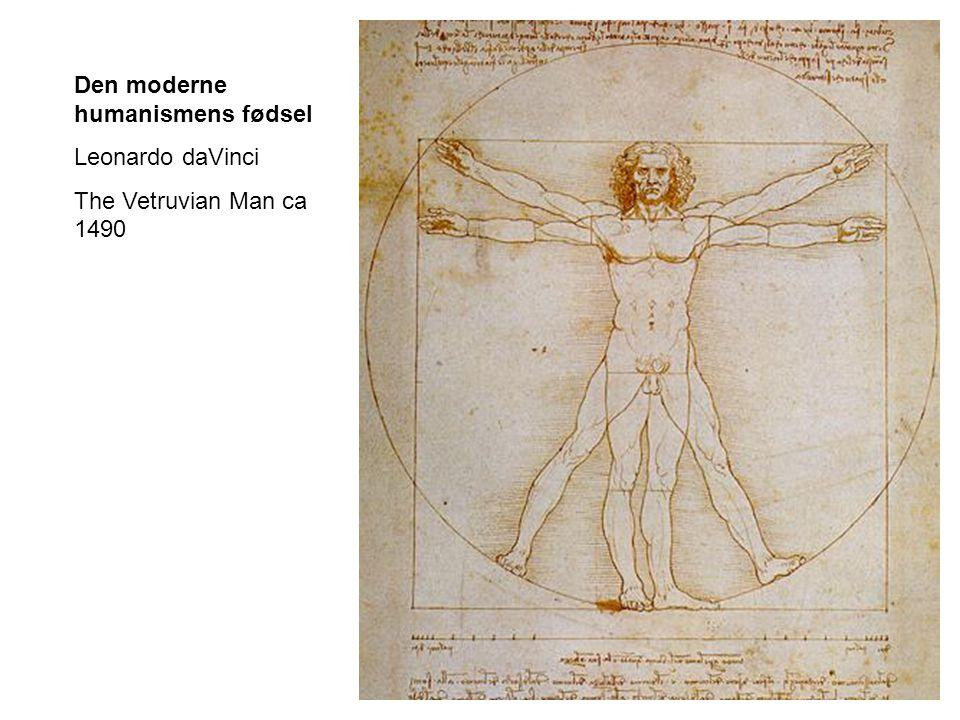 Den moderne humanismens fødsel