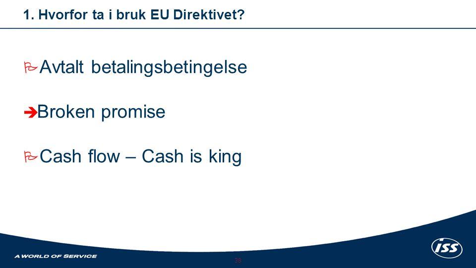 1. Hvorfor ta i bruk EU Direktivet