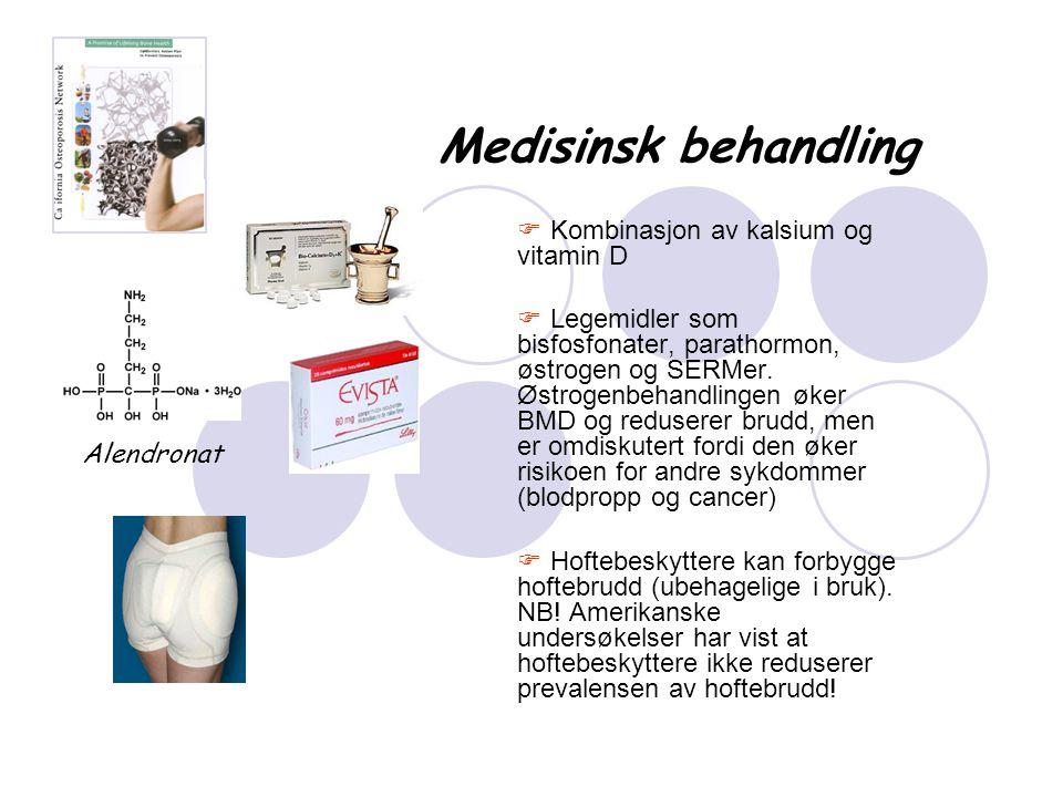 Medisinsk behandling Kombinasjon av kalsium og vitamin D