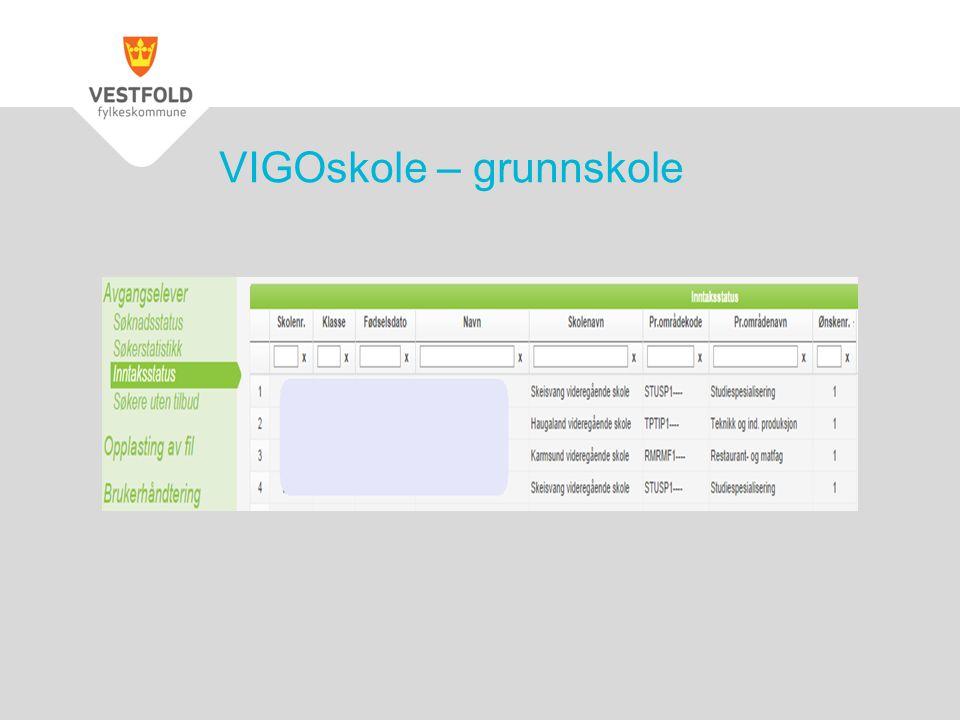 VIGOskole – grunnskole