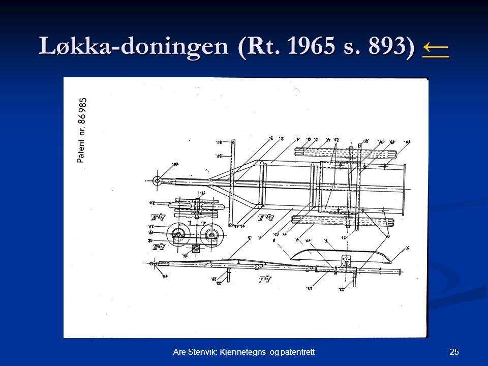 Løkka-doningen (Rt. 1965 s. 893) ←