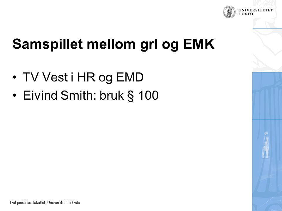 Samspillet mellom grl og EMK