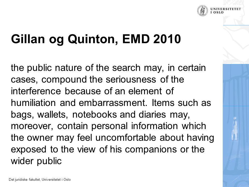 Gillan og Quinton, EMD 2010