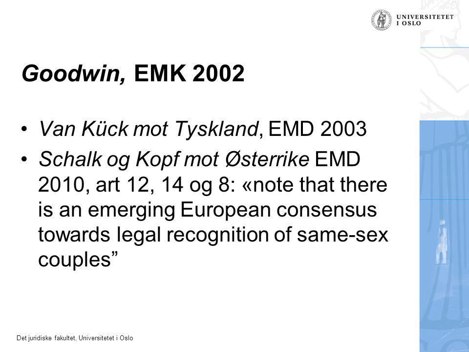 Goodwin, EMK 2002 Van Kück mot Tyskland, EMD 2003