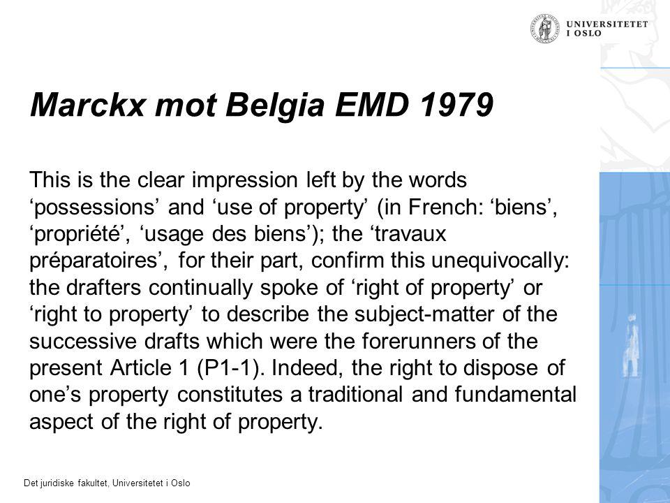 Marckx mot Belgia EMD 1979