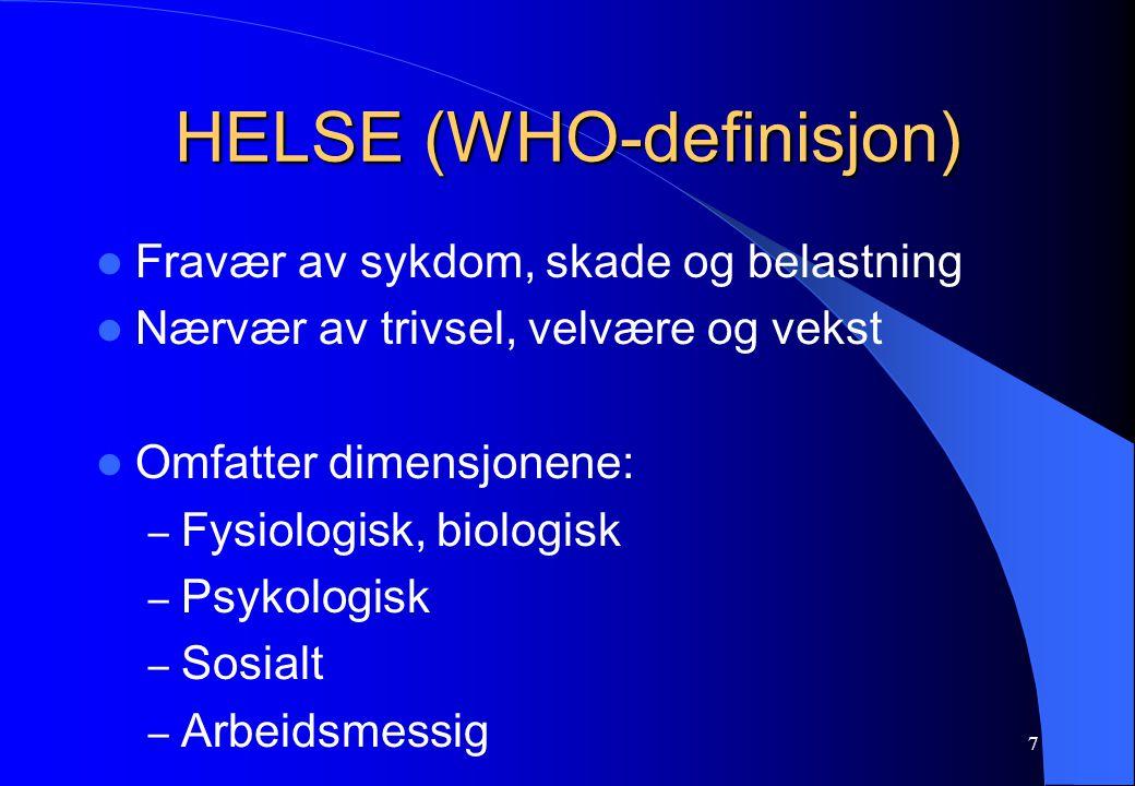 HELSE (WHO-definisjon)
